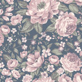 ROSIE - NAVY / BLUSH PINK