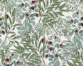 NORDIC LEAVES - GREEN