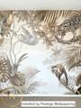 Mural - Jungle Hangout Sepia (Per Sqm)