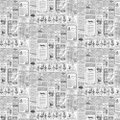 NEWSPAPERS - BLACK / WHITE