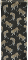 ALL OVER LEOPARD - CHARCOAL