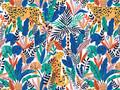 Mural - Cheetah Blue Multi(Per Sqm)