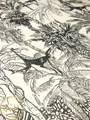 Mural - Monkey Toile Monochrome (Per Sqm)