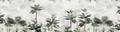 MURAL - BOTANICAL BLISS VINTAGE ORANGE (PER SQM)