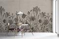 Mural - Tulip Taupe (Per Sqm)
