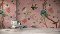 Mural - Chinoiserie Pink (Per Sqm)
