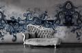 Mural - Baroque Blue (Per Sqm)