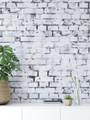 Mural - Bricks Chipped Cool (Per Sqm)