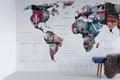 Mural - Vintage Map (Per Sqm)