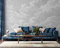 Mural - Clouds Soft Grey (Per Sqm)
