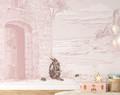 Mural - The Secret Door Pink (Per Sqm)