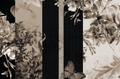 Mural - Heritage Stripe Sepia (Per Sqm)