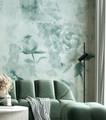 Mural - Khloe Sea Green (Per Sqm)