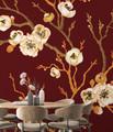 Mural - Sakura Tree Red (Per Sqm)