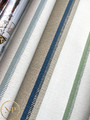 Notch Stripe -  Flax / Navy