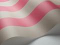 GLASTONBURY STRIPE - PINK & LINEN