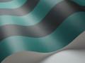 Glastonbury Stripe - Teal & Black