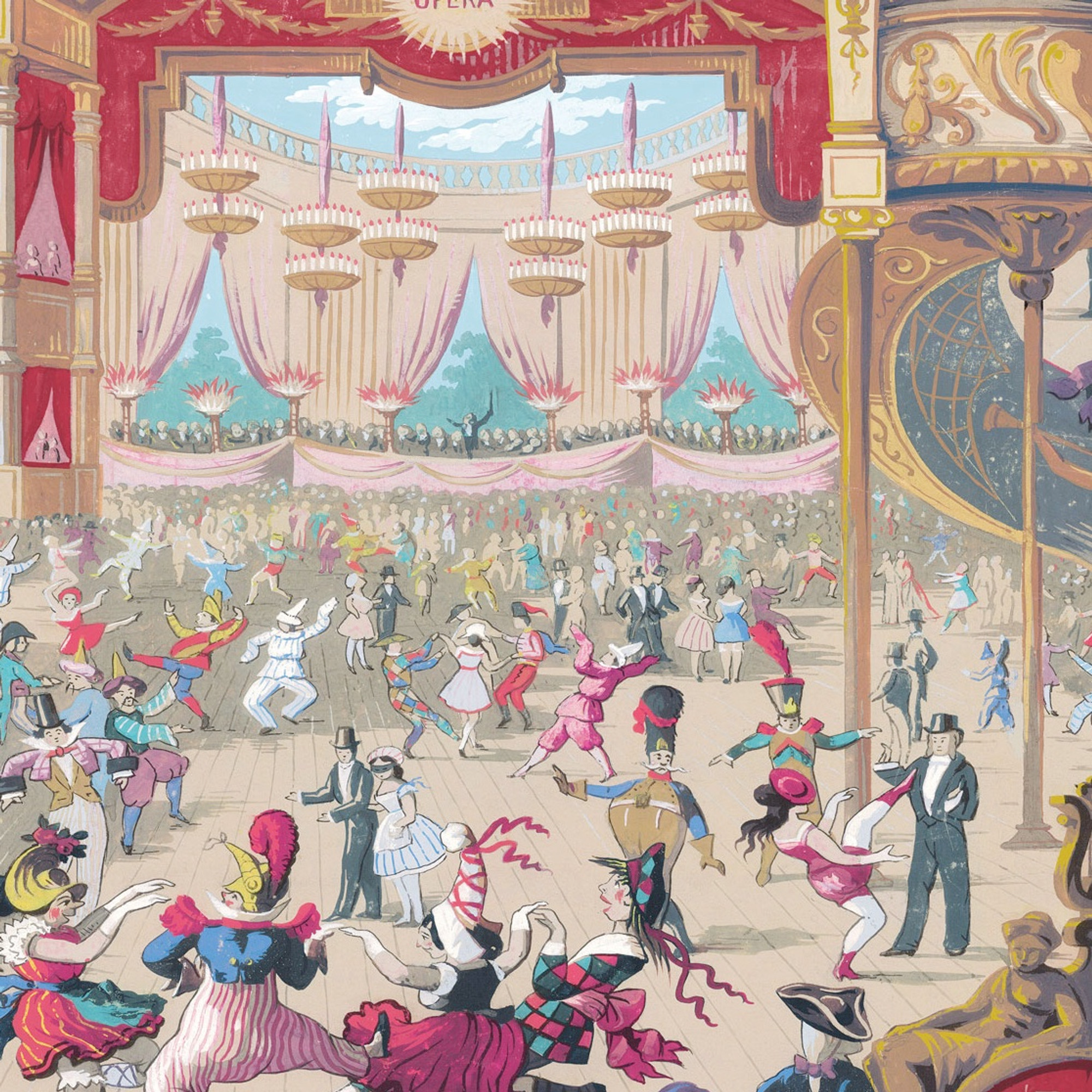 cole and son cabaret wallpaper 103/7026