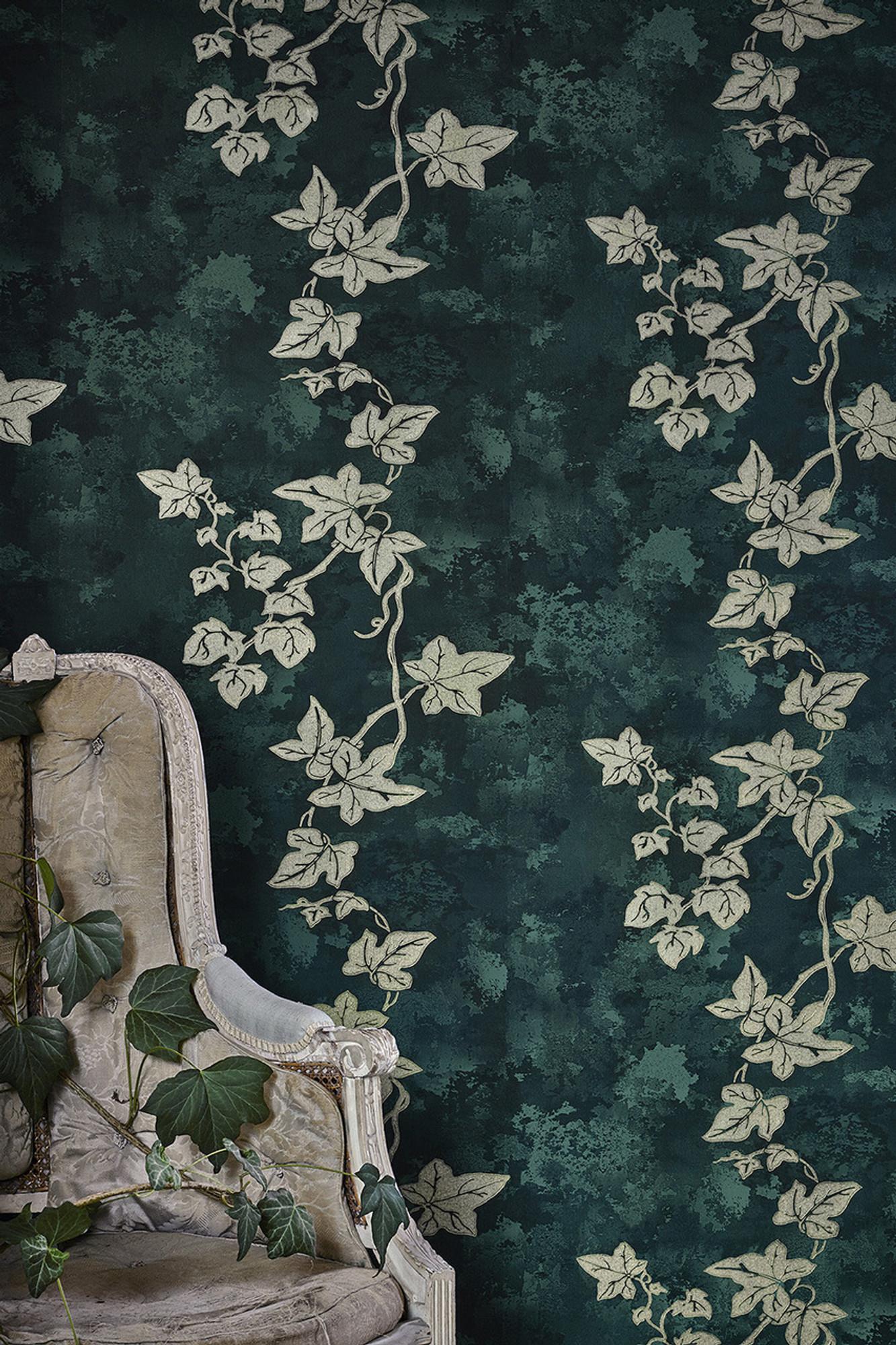 Ivy Deep Green Gold