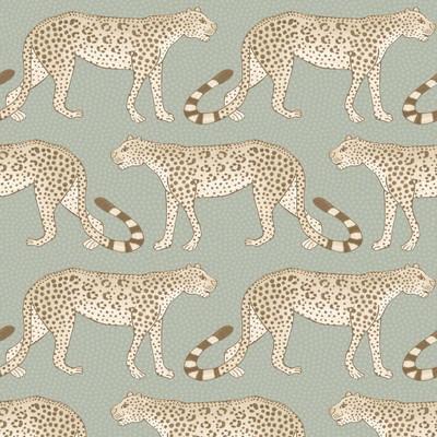Leopard Walk - Soft Olive
