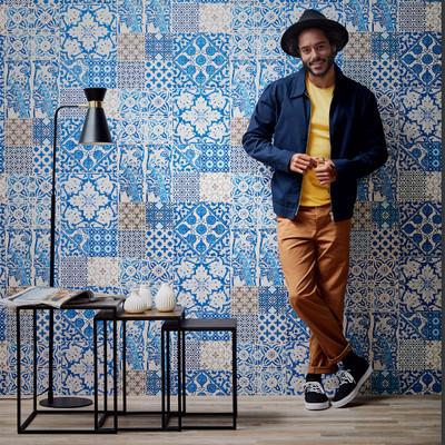 Dutch Tile - Blue