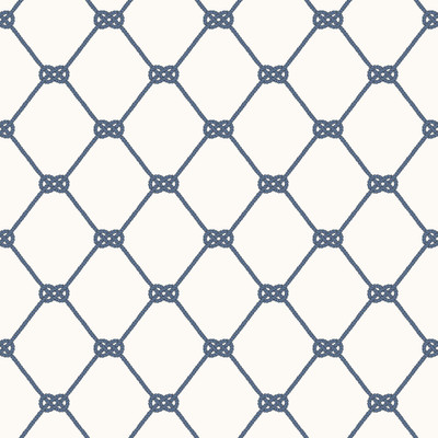NAUTICAL KNOT - WHITE / NAVY BLUE