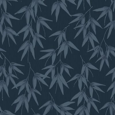 BAMBOO GARDEN - MOONLIGHT BLUE