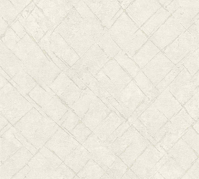 ABSTRACT DIAMOND - CREAM / GREY