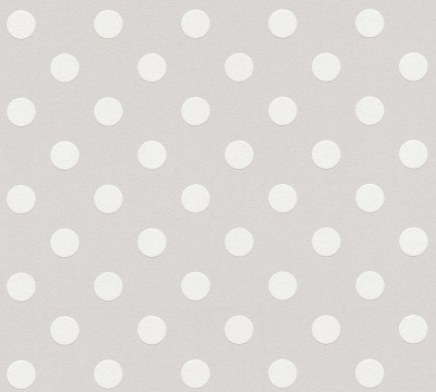 EMBOSSED DOTS - GREY / WHITE