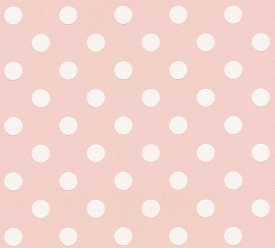 EMBOSSED DOTS - PINK / WHITE