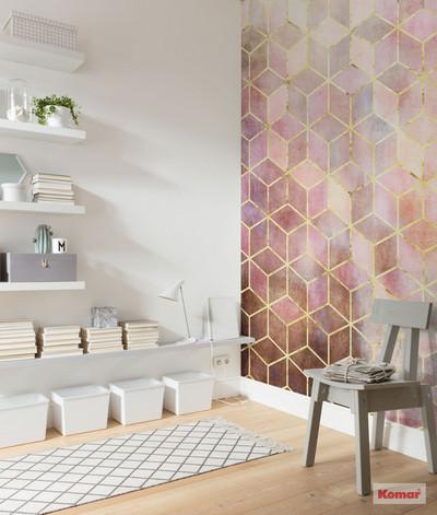 Mural - Mosaic Rosa (2.0m X 2.5m)