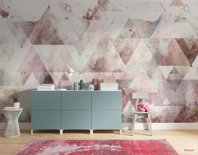 Mural - Triangles Red (4.0m X 2.5m)