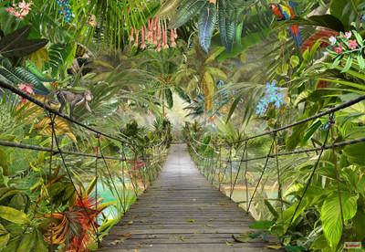 Mural - Wild Bridge (3.68m X 2.54m)