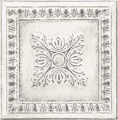 Tin Tile - White