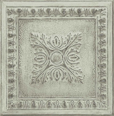 Tin Tile - Sage Green