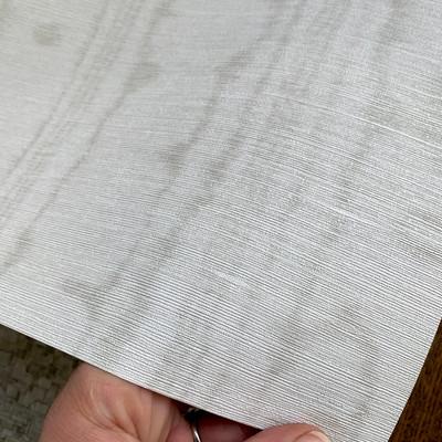 Watered Silk - Platinum Grey