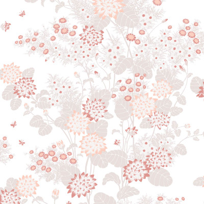 Chinese Floral - Pink Sand