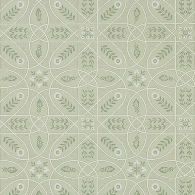 Brophy Trellis - Sage / Linen