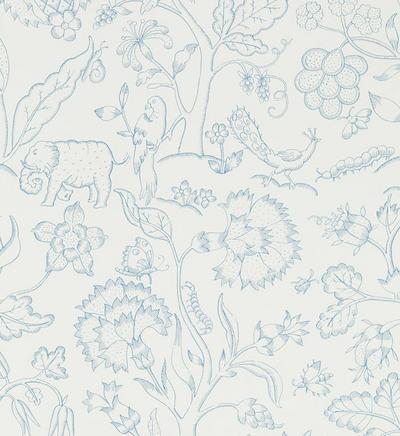 Middlemore - Cornflower Blue / Chalk