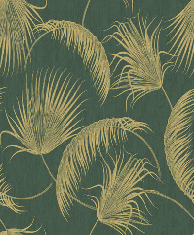 OASIS LEAVES - GREEN / GOLD