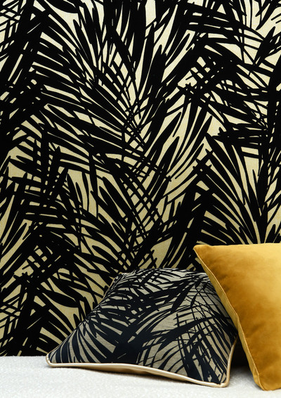 Palmeraie - Black / Gold