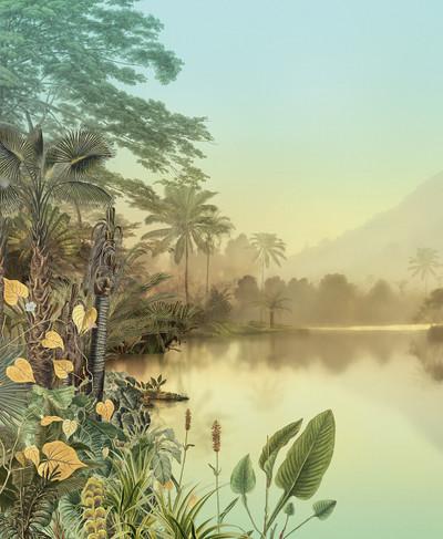 Mural - Lac Tropical (4.0m X 2.7m)