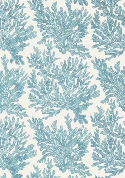 Marine Coral - Spa Blue