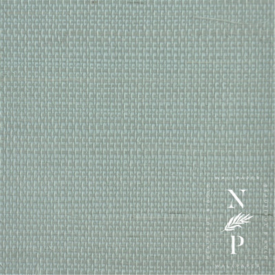 Rana Sisal - Sky Green (2 Rolls Available)