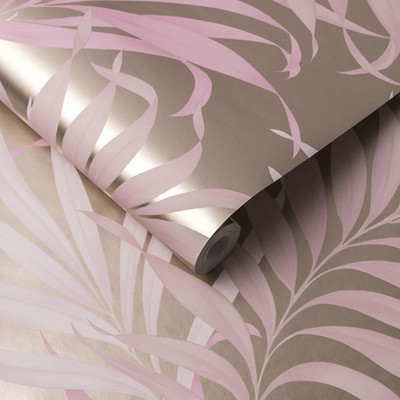 Yasuni - Blush Pink Wallpaper