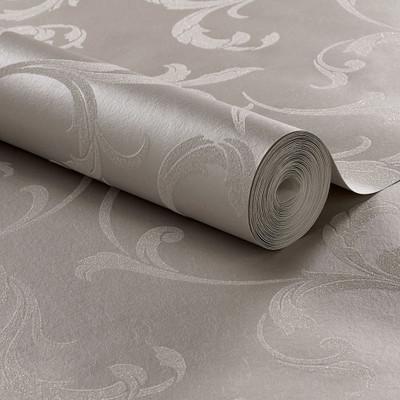 Baroque Beaded Wallpaper - Platinum
