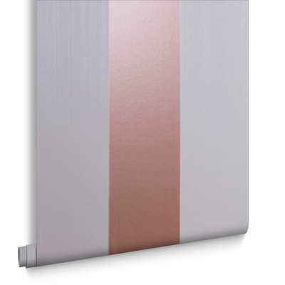 FIGARO - ROSE GOLD / MINK WALLPAPER