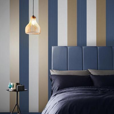 Figaro - Navy Blue Wallpaper