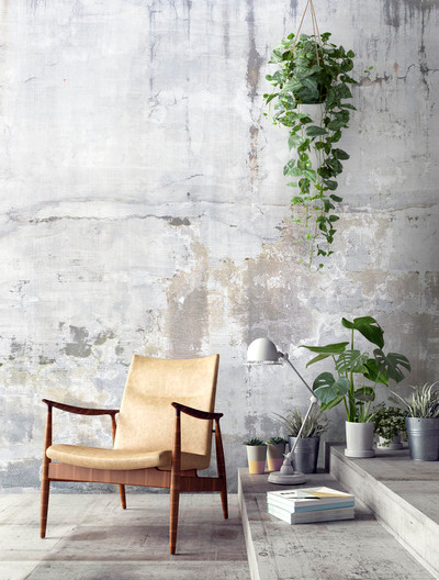 MURAL - WEATHERED CONCRETE WALL (PER SQM)