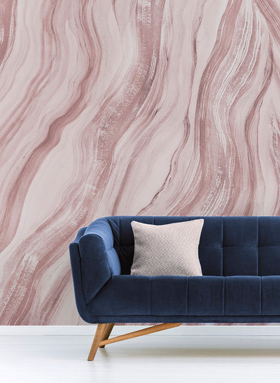 MURAL - UNEARTH OLD PINK (PER SQM)